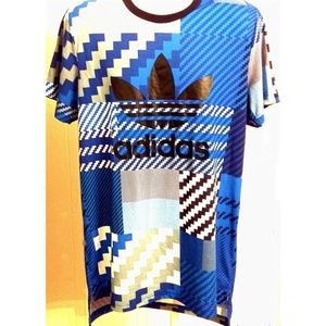 Adidas spell out shirt